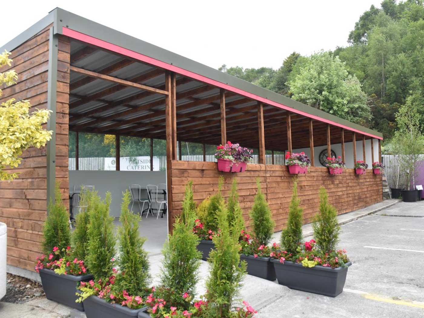 Thyme Out Café at Alcorn's Garden Centre